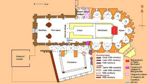 Cathedral Floor Plan Cathedral Plans And Facts France Zone At Abelard Org