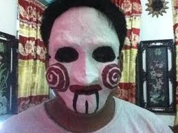 Saw Mask Saw Mask For Halloween By Serphiroth101 On Deviantart