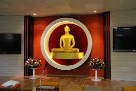 buddhist meditation room
