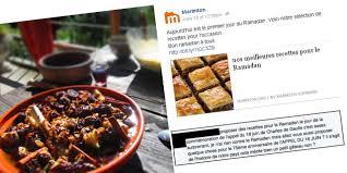marmitons recettes cuisine recettes du ramadan marmiton fait à un torrent d insultes