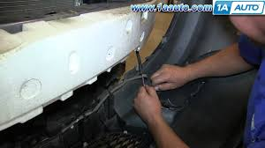 how to install replace change headlight and bulb 2004 06 mazda 3 4
