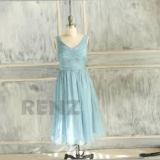 Light Blue Chiffon Dress 2015 Light Blue Bridesmaid Dress Wedding Dress Chiffon Party