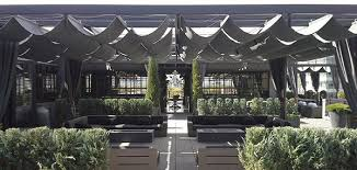 Outdoor Furniture Upholstery Fabric by Restoration Hardware Rooftop Garden In Cherry Creek Using