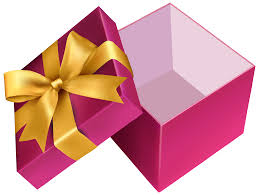 pink open gift png clipart best web clipart
