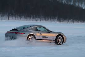 porsche winter porsche 911 u2013 double driving fun even in snow and ice porsche