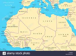 africa map with country names and capitals africa countries political map with capitals and borders