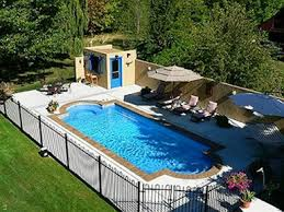 above ground pool landscaping photos landscape designs