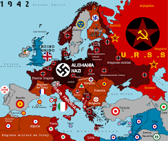 Map Of Europe 1942 by Occupied Europe Remake By Alcasar Reich On Deviantart
