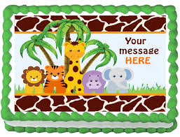 safari cake toppers safari cakes toppers for baby shower party xyz