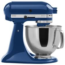 kitchenaid ksm150psbw blue willow artisan series 5 qt countertop