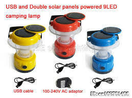 solar powered lantern lights free shipping 36led solar cing l dynamo cing light led