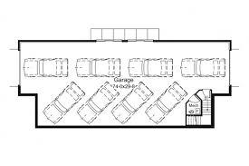 basement garage plans unique drive thru basement garage hwbdo76212 farmhouse home