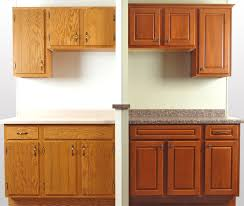 kitchen cabinet refinishing before and after kitchen cabinets refacing before and after and the cost