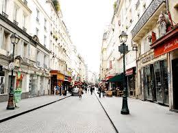 a walk in marais neighborhood of paris