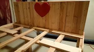 king size pallet bed pallet furniture diy
