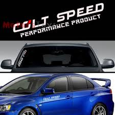 mitsubishi sticker 1 colt speed performance product car body or window vinyl car