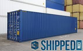 40ft new high cube intermodal shipping container secure storage in