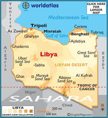 a map of libya map geography of libya map of libya worldatlas com