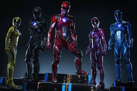 power rangers introduces character