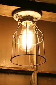 industrial cage light bulb cover industrial metal wire cage guard cage guard only vintage style