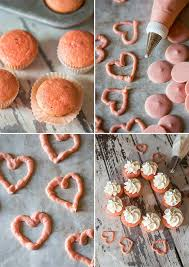 valentine cake easy strawberry flavored cake with mini cupcakes