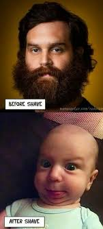 Funny Beard Memes - true story grave before shave beard meme baby funny beard tips