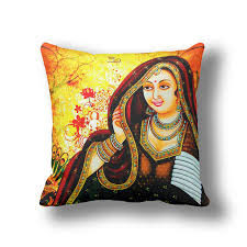 Yellow Throws For Sofas by Ikathome Indian Tribes Anime Princess Yellow Vintage Decorative