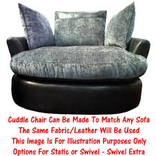 Swivel Cuddle Chair Cuddle Chair Static Or Swivel Available In Any Sofa Range Call
