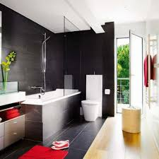 Small Bathroom Designs With Tub Bathroom Remodeling Small Bathroom Decor Black Wall Tile Feat
