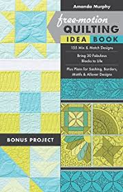 365 free motion quilting designs leah day 9781617455322 amazon