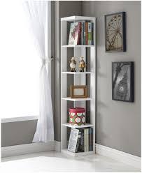 bookshelf astounding corner bookcase white cool corner bookcase