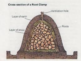 the deliberate agrarian leaf bags for easy garden root storage my