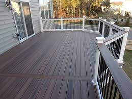 Ideas For Deck Handrail Designs Best 25 Composite Decking Ideas On Pinterest Trex Decking