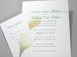 calla lily wedding invitations marialonghi com