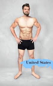 men s what the ideal man s body looks like in 19 countries huffpost