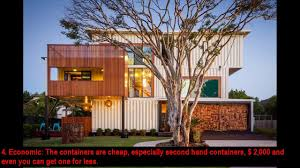 10 benefits of living in a container home youtube