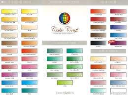 wilton food coloring color chart sugar craft pinterest food