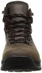 hi tec men u0027s ravine waterproof m hiking boot brown 9 5 m us