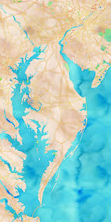 Eastern Shore Virginia Map by 41 Best Delaware Maps Images On Pinterest Delaware 50 States