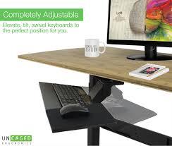 Ergonomic Desk Position Ergonomic Under Desk Keyboard Tray Relax The Back