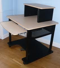 Omnirax Presto 4 Studio Desk Black by Studio Rta Creation Station Desk Manual Hostgarcia