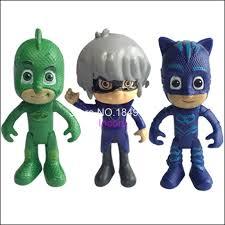 pjmasks figure 6pcs 8 9cm pj masks characters catboy owlette