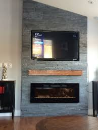 Modern Electric Fireplace Flush Mount Electric Fireplace Recessed Living Room Rhymefestla Com