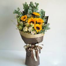 sunflower bouquets singapore flower shop florists singapore flowers gifts to