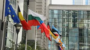 Europe Country Flags European Countries Flags Europe Parliament Headquarters Brussels