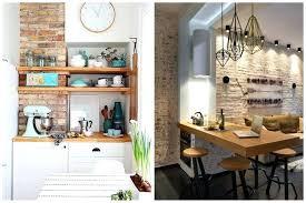 cuisine mur deco mur cuisine mur de briques cuisine deco murs pour cuisine