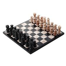 handcrafted mexican marble chess set medium glorious battle