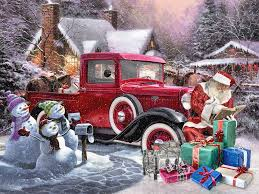 Vintage Ford Truck Forum - 5 rods santa could be driving this christmas the auto parts