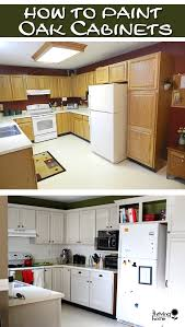 oak cabinets painting oak cabinets thriving home