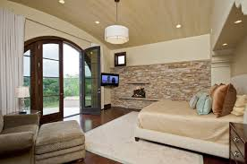 idea accents classy bedroom themed with mosaic brick accents wall ideas feat